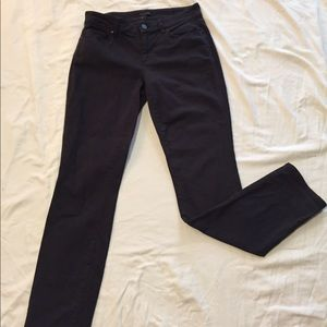 Ann Taylor The Skinny Curvy Fit Charcoal Jeans